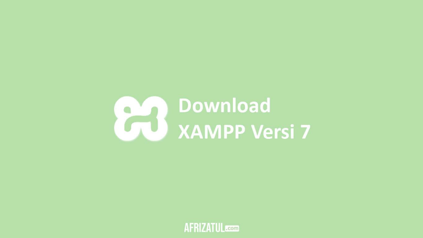 download xampp versi 7