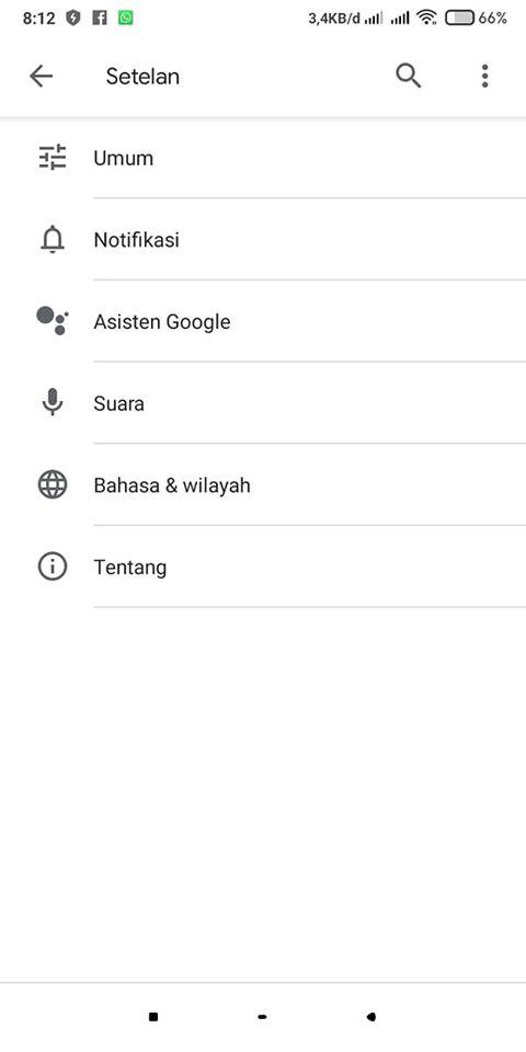 cara menggunakan google assistant