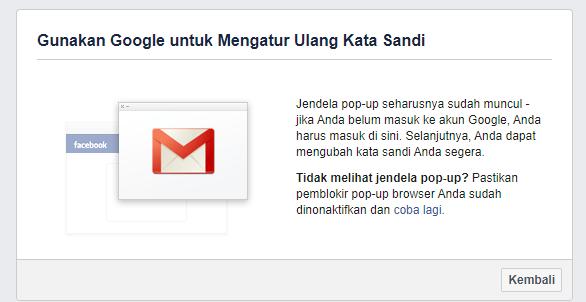 cara buka fb lupa sandi email dan no hp mati