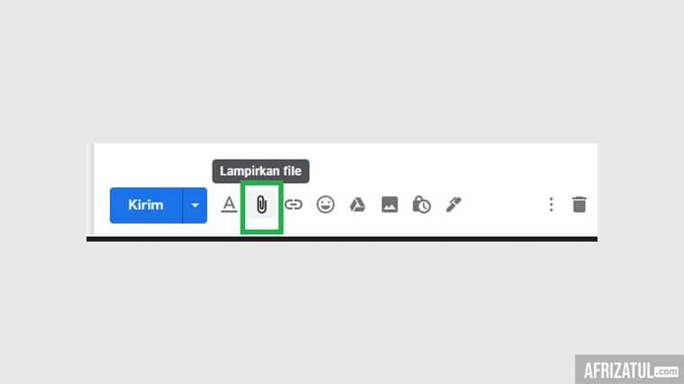 cara mengirim file dari laptop ke hp melalui email