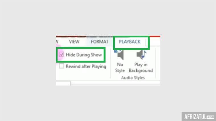 cara merekam suara di powerpoint 2010