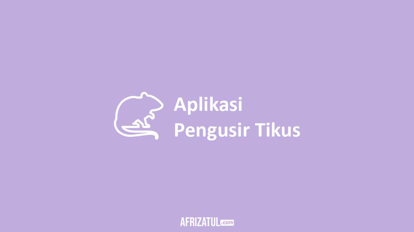 Aplikasi Pengusir Tikus