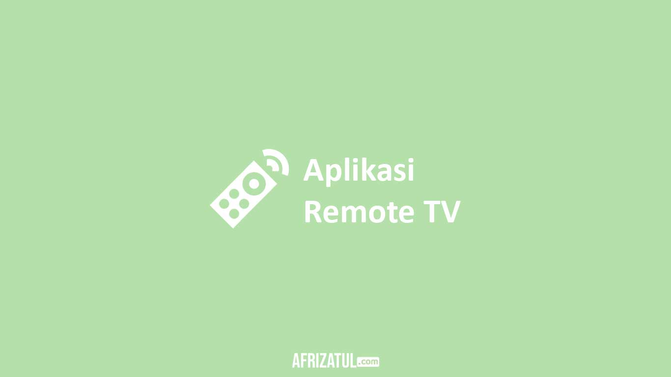Aplikasi Remote TV