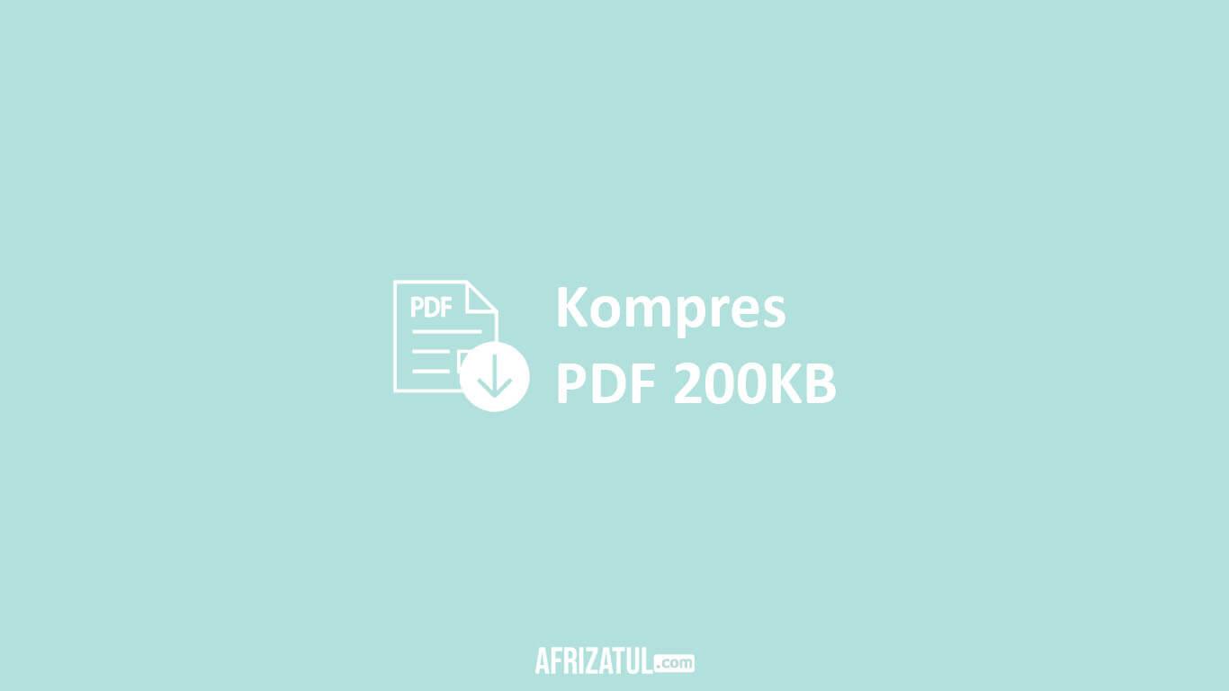 Kompres PDF 200KB