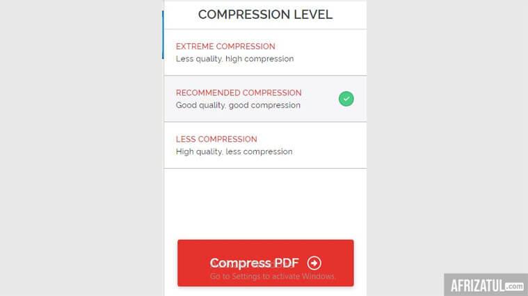 kompres pdf 200kb tanpa mengurangi kualitas