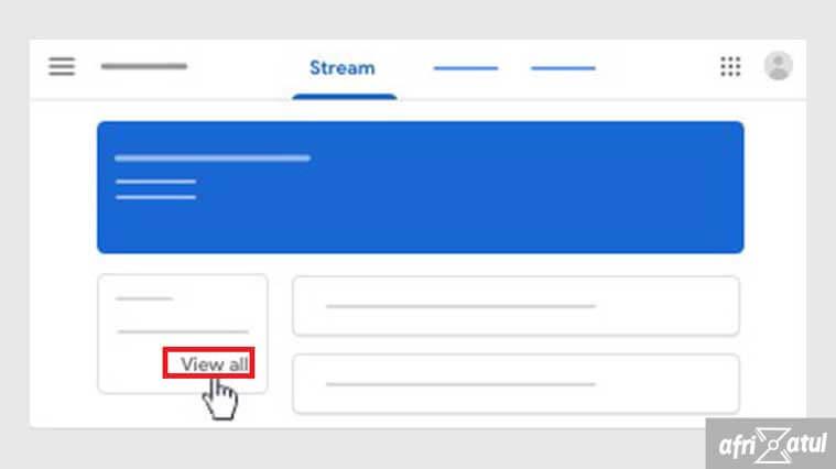 cara melihat nilai di google classroom di hp